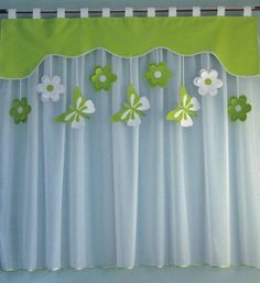 Kitchen Window Curtains, Home Curtains, Curtains With Blinds, Window Curtain Designs, Curtain Patterns, Home Decor Furniture, Diy Home Decor, Rideaux Design, Farmhouse Window Treatments