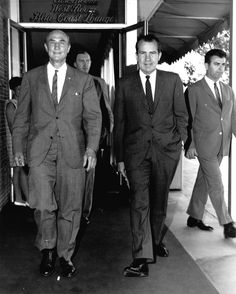 Richard Nixon and Strom Thurmond