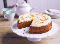 Carrot Cake o Pastel de Zanahoria, ¡irresistible!