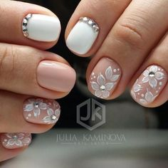 Beautiful Varieties Nudovogo Manicure