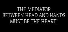 metropolis film quote - encapsulating the need for communication by both man and technology (mediation) but also communication between the leader and the workers ---> for a successful society