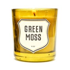 Green Moss Candle | Izola smell won't interfere with the food.