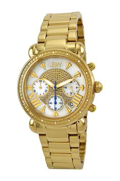 JBW | Women's Victory Metal Diamond Watch | HauteLook
