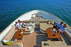 External view Mochi Craft - Long Range 23 #yacht #luxury #ferretti #mochi