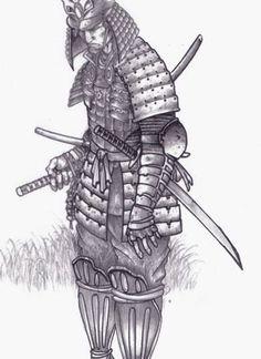 Cursed Samurai Tattoo Design  Tatuajes    Samurai