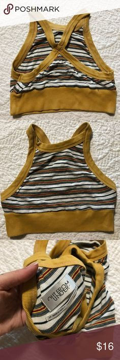OUT FROM UNDER // striped top From urban outfitters. Super vintage feel to this. Stretchy and versatile. Never worn, smaller than a S. Urban Outfitters Intimates & Sleepwear Bandeaus