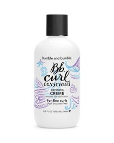 Bumble and bumble Curl Conscious Defining Creme 8.5 oz.