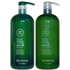 Paul Mitchel Tea Tree Special Shampoo, Conditioner.