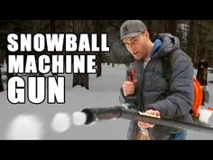 Upgrade Your Winter Arsenal with an Automatic Snowball Launcher | Make:
