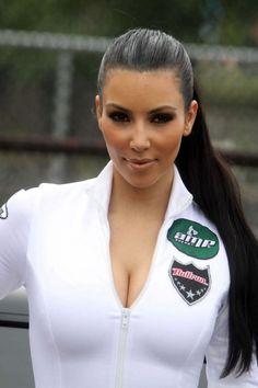 Kim Kardashian Sleek Slick Ponytail Beauty How To Hair