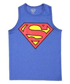 Superman Mens Superman For President Tank Top