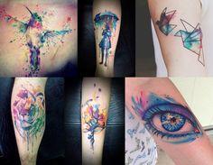 Watercolor Tattoo, tatuagem aquarela, fotos de tatuagens, tatuagens 2015, tatuagens masculinas, blog de moda, moda masculina, estilo masculino, menswear, menstyle, fashion blogger, blogger, alex cursino, moda sem censura, 5