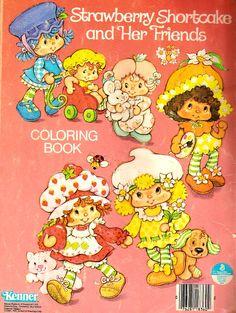Strawberry Shortcake Coloring Book - Big Apple City @ Toy-Addict.com