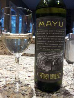Mayu Pedro Ximenez 2012 White Chilean Wine