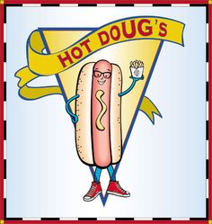 Best hot dogs in Chicago, even when the line is around the building.