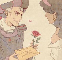 So romantic.... haha!