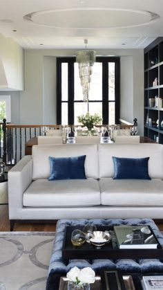 Clapham Common, Sofas, Blinds, Upholstery, Armchair, Cushions, Couch, Curtains, Interiors