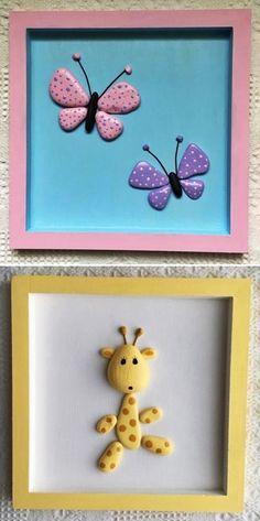 MENTŐÖTLET - kreáció, újrahasznosítás: Egyszerű kavicsképek gyerekszobába Frame, Diy Ideas, Home Decor, Stone Crafts, Recycled Crafts, Stones, Crafting, Picture Frame, Decoration Home