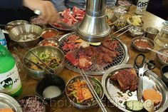 There was a huge line when we visited 678 Korean BBQ restaurant in Sydney. Korean Bbq Restaurant, Sydney Restaurants, Looks Yummy, Allrecipes, I Foods, Beef, Meals, Meat, Meal
