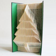 Christmas Tree Buch Falten Muster 2 sieht: von LoveBookFolding
