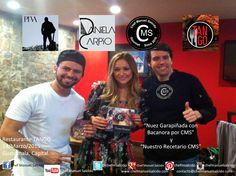 """Gracias Daniela Carpio y Piva y a todo su equipo, por creer en los proyectos, Gracias Juan Carlos """"The Grill Master"""" de Tango Restaurante, espero regresar pronto a #Guatemala, saludos!!! buena vibra!!! #chefcms #DanielaCarpio #PIVA #Artistas #Internacionales #Guatemaltecos #proyectos"""