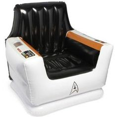 Star-Trek-inflatable-Captains-Chair. I came across this little number while searching for inflatable triceratops heads...