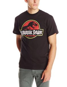 fab684838 Amazon - Jurassic Park Men's T-Shirt, Black, Small Buy T Shirts Online
