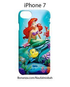 Cute Ariel Little Mermaid iPhone 7 Case Cover Wrap Around