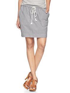 it's like fancy sweatpants but in skirt form!