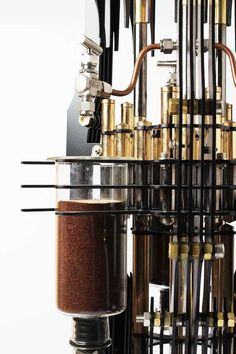 This Gorgeous Steampunk Tower Is a Coffee Machine for Supervillains  - PopularMechanics.com