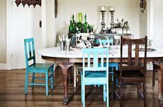 «Ho viaggiato per vent'anni della mia vita, cercando pezzi incredibili, spesso unici, per il mio lavoro e ho sviluppato il mio stile personale» racconta la proprietaria di questa casa, una [...]