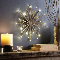 Brighten up your home with this glistening glitter snowflake this holiday season!