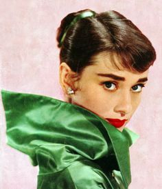 Audrey Hepburn #GorgeousInGreen