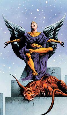 The cover to Before Watchmen: Ozymandias art by Jae Lee Marvel Comics, Arte Dc Comics, Dc Comics Art, Marvel Dc, Comic Book Artists, Comic Books Art, Comic Art, Fantastic Four, Geeks