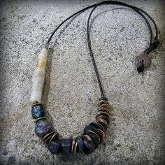 Serendipity OOAK necklace, kathy van kleeck