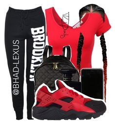 """""""Not So Special ❤"""" by bhad-lexus ❤ liked on Polyvore featuring Moschino, Chanel and NIKE"""