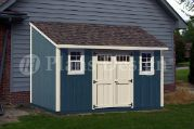 8 x 14 Deluxe Lean-to Shed