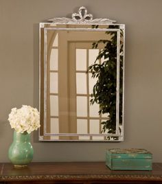 Hickory Manor House Old World Mirror with Side Glass in Shimmer Decor, Rectangular Mirror, Elegant Lighting, Wall Mounted Jewelry Armoire, Accent Mirrors, White Mirror, Mirrors For Sale, Traditional Wall Mirrors, Mirror