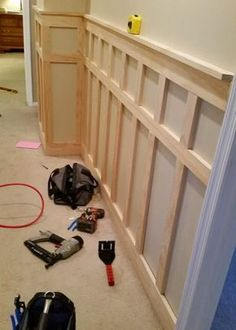 DIY baseboards, molding, trim-9 #woodworkideas
