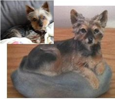Your Yorkie Custom Hand Made Sculpture In By Custompetsculpture