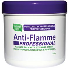 The NEW improved Nature's Kiss Anti-Flamme Professional formula has been tested by the University of Auckland Physiotherapy School and a number of Physiotherapy clinics throughout New Zealand, ensuring Anti-Flamme Professional is Developed by Professio
