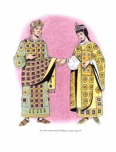 Geralmente as pessoas faziam roupas em casa, mas com o crescimento das cidades, pequenas lojas especializadas na fabricação das roupas surgiram e passaram a ser feitas por artesãos.