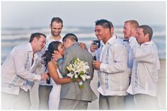 """A wedding and a drink. We love it! Style """"Durban"""".     View our photo gallery on our website for more customer photos!"""