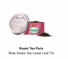 Kusmi Tea Paris Rose Green Tea Loose Leaf TinNovember Birchbox 2013  Favorite beauty and lifestyle goodies for you to sample!  http://www.lesbananas.us/2013/11/youre-invited-november-birchbox-holiday.html