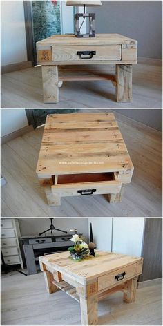 To have a perfect place for your home furniture arrangement set up, we would strongly be suggesting you with the option to opt for the table that is build with the crafting of wood pallet into it. This is what this image is showing you out with where the rustic wood pallet material effect has been put up.