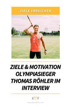 Olympiasieger Thomas Röhler über Ziele, Motivation und Performance - Klara Fuchs Triathlon, Olympia, Coaching, Interview, Mental Training, Trainer, Promotion, Baseball Cards, Motivation
