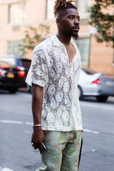 Street style at New York Men's Spring Fashion Week [Photo: Melodie Jeng]
