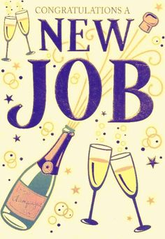 New job – The little thins – Event planning, Personal celebration, Hosting occasions Congrats Wishes, New Job Congratulations, Job Promotion, Promotion Party, New Job Wishes, New Job Party, Funny Leaving Cards, Good Luck New Job, New Job Quotes