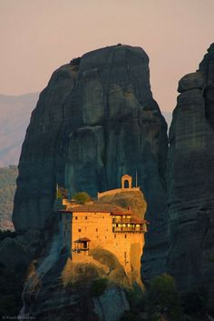 GREECE CHANNEL | The Holy Orthodox Monastery of St. Nicholas Anapausas, Meteora Greece