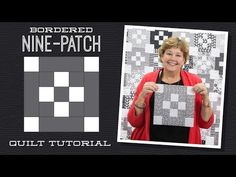 MSQC Tutorial - Bordered Nine Patch Quilt